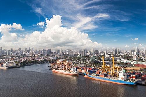 Hafenanlage